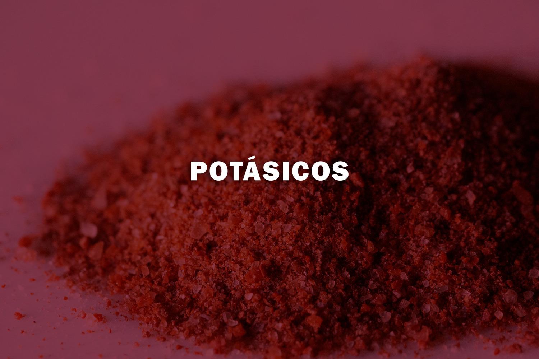 - El Potasio contribuye a desarrollar de manera óptima la producción agrícola.