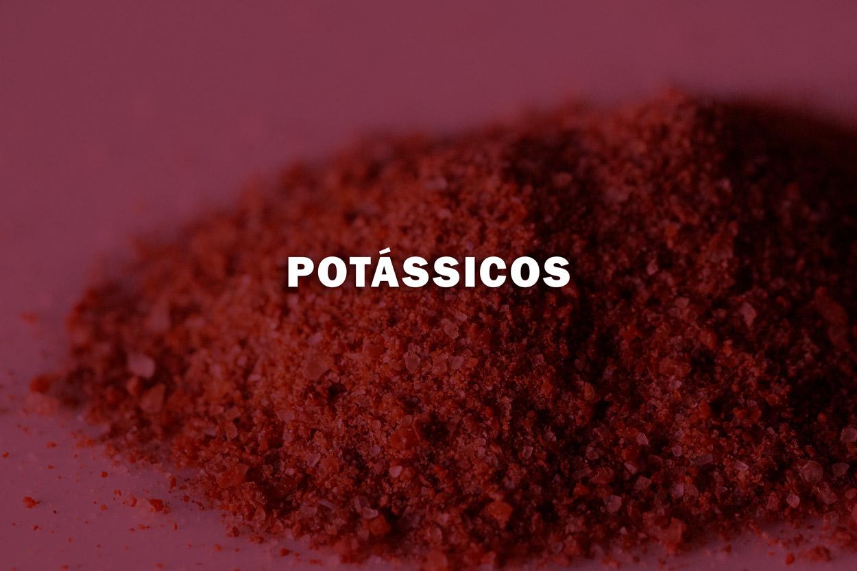 - O Potássio contribui para desenvolver mais otimamente a produção agrícola.